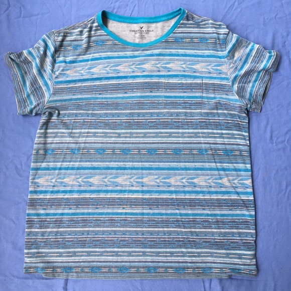 American Eagle Outfitters Other - AEO—Aztec Stripe T-shirt